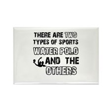 Waterpolo designs Rectangle Magnet (100 pack)
