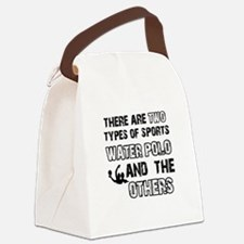 Waterpolo designs Canvas Lunch Bag