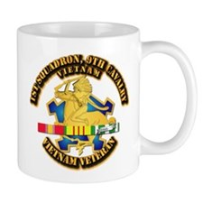 Army - 1-9th CAV w VN SVC Ribbons Mug