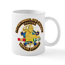 Army - 1-9th CAV w VN SVC Ribbons Mug