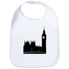 London silhouette Bib