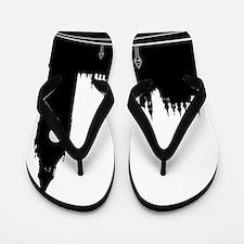 London silhouette Flip Flops