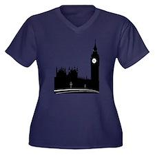 London silhouette Plus Size T-Shirt