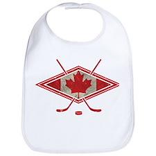 Canadian Hockey Flag Bib