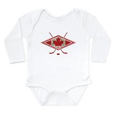 Canadian Hockey Flag Body Suit