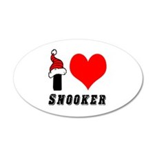 I Love Snooker Wall Decal