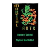 Martial arts 3x5 Rugs
