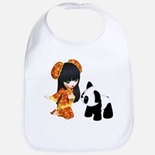 Kawaii China Girl Bib