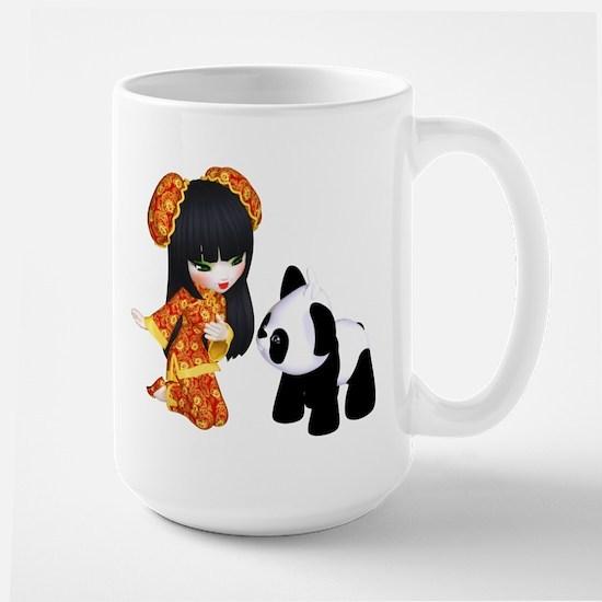 Kawaii China Girl Mug
