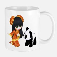 Kawaii China Girl Mug
