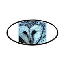 barn owl, wildlife art! Patches