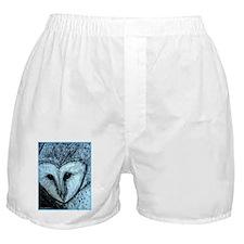 barn owl, wildlife art! Boxer Shorts
