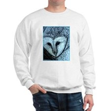 barn owl, wildlife art! Sweatshirt