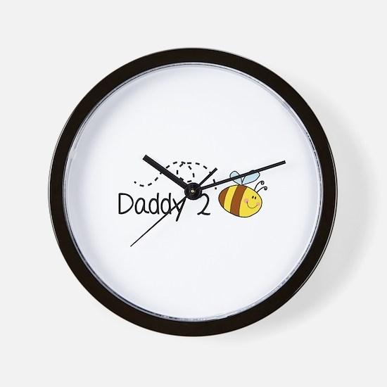 Daddy 2 Bee Wall Clock
