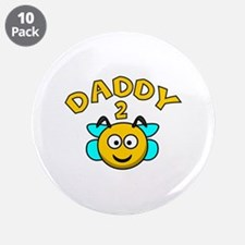 """Daddy 2 Bee 3.5"""" Button (10 pack)"""