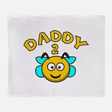 Daddy 2 Bee Stadium Blanket