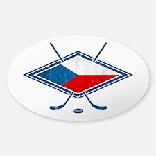 Czech Ice Hockey Flag Decal