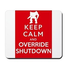 Mechwarrior Shutdown Mousepad