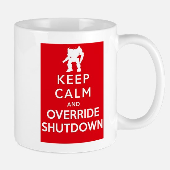 Mechwarrior Shutdown Mug