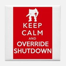 Mechwarrior Shutdown Tile Coaster