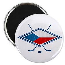 """Czech Ice Hockey Flag 2.25"""" Magnet (10 pack)"""