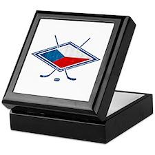 Czech Ice Hockey Flag Keepsake Box