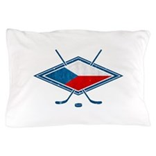 Czech Ice Hockey Flag Pillow Case