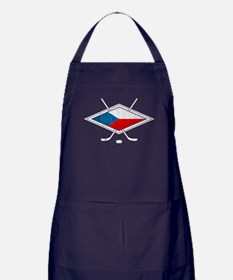 Czech Ice Hockey Flag Apron (dark)