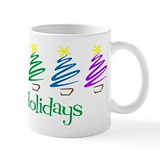 Happy Holidays (Rainbow Trees Mug