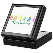 Happy Holidays (Rainbow Trees Keepsake Box
