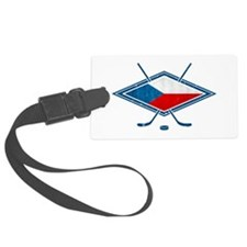 Czech Ice Hockey Flag Luggage Tag