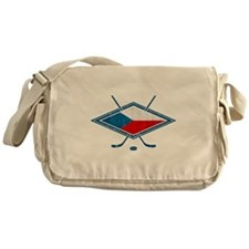 Czech Ice Hockey Flag Messenger Bag