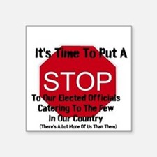 It's Time To Put A Stop To Our Elected Officials S
