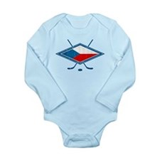Czech Ice Hockey Flag Body Suit