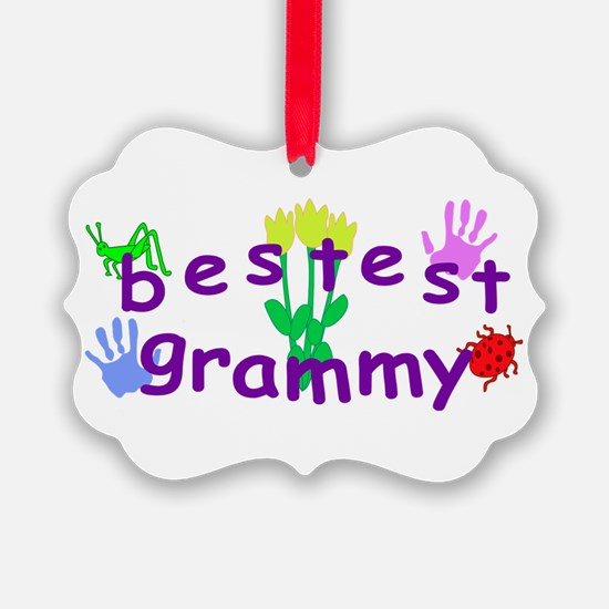 Bestest Grammy Ornament
