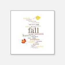 Fall Dreams Sticker