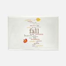 Fall Dreams Rectangle Magnet