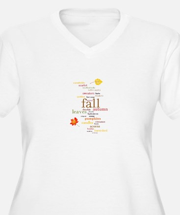 Fall Dreams Plus Size T-Shirt