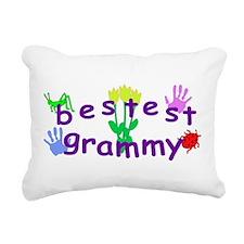 Bestest Grammy Rectangular Canvas Pillow