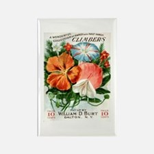 Vintage Seed Packet Rectangle Magnet