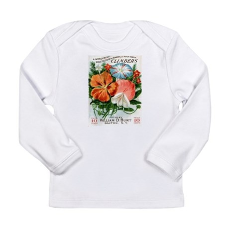 Vintage Seed Packet Long Sleeve T-Shirt