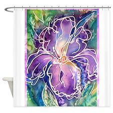 Iris! Beautiful, purple flower, Shower Curtain