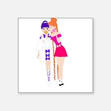 Hotaru and Usagirou Sticker