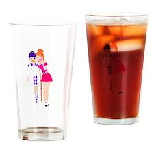 Hotaru and Usagirou Drinking Glass