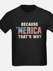 Because 'Merica Vintage T