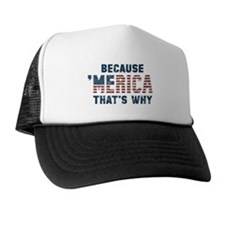 Because 'Merica Vintage Trucker Hat