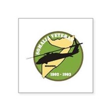 Somalia Veteran Oval Sticker
