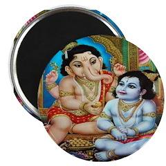 Ganesha Magnets (10 pack)