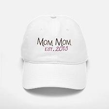New Mom Mom Est 2013 Baseball Baseball Cap