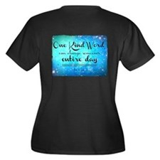 One Kind Word Plus Size T-Shirt
